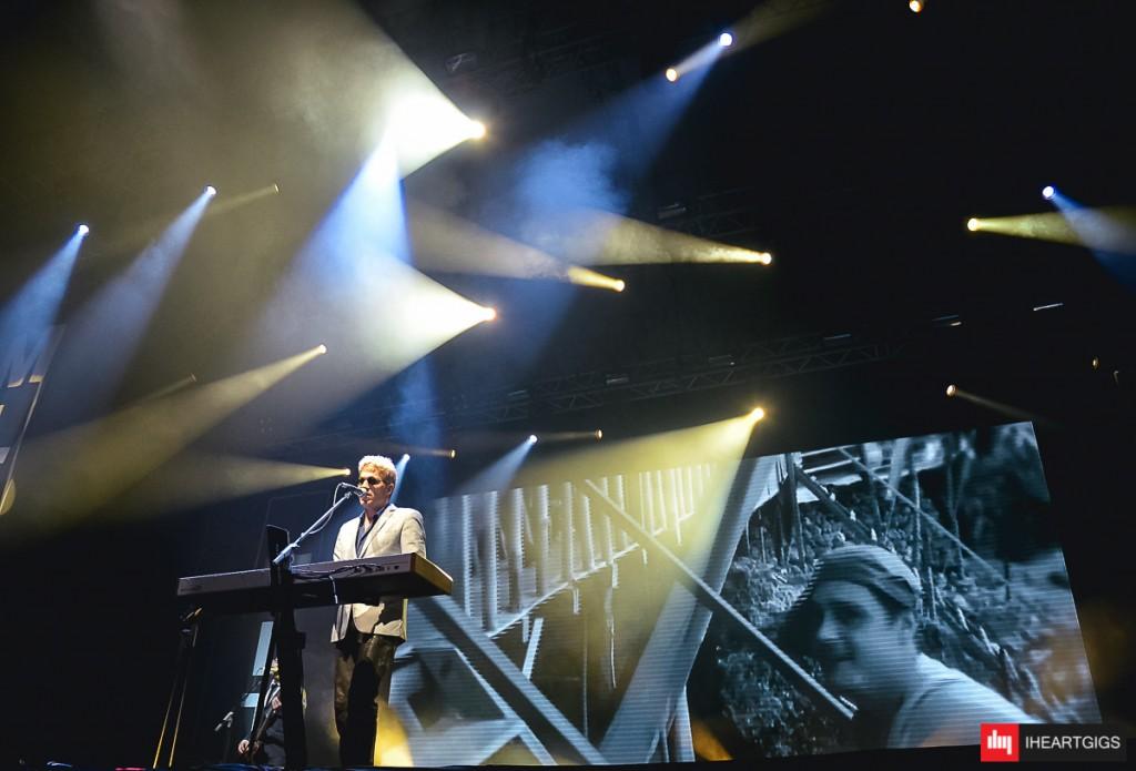 Michael Learns to Rock mengakhiri Indonesia Valentines Tour 2016 di Grand City Convention Hall Surabaya, Jawa Timur, Senin (15/2) malam. ©IHEARTGIGS/ Wibie Wibisana