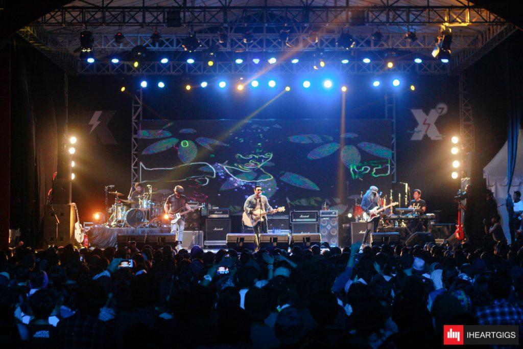 Penampilan Naif di panggung utama Kickfest ©IHEARTGIGS /Lucky Brinanda